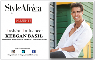 Keegan Basil SA Fashion Influencer
