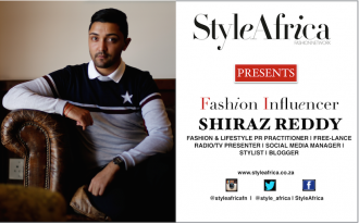 Shiraz Reddy SA Fashion Influencer