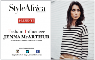 Jenna McArthur South African Fashion Influencer