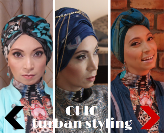 Portrait of a Queen chic turban styling with Roshan Isaacs