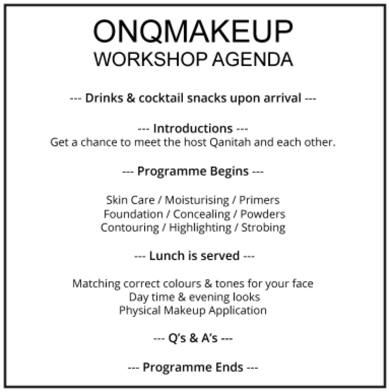 How to get your makeup done like a pro with OnQ Makeup Style Africa
