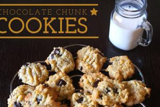 chocolate chunk cookies.Lamees